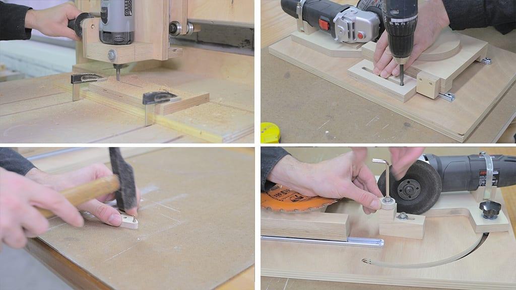 18Saw Blade Router Bits Sharpener 6 - DIY Saw Blades & Router Bits Sharpening Jig
