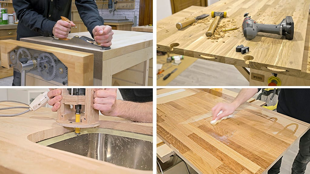 Processing-finger-joint-board-woodworking
