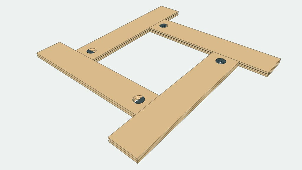 Homemade-adjustable-routing-template-plunge-base-woodworking-plans