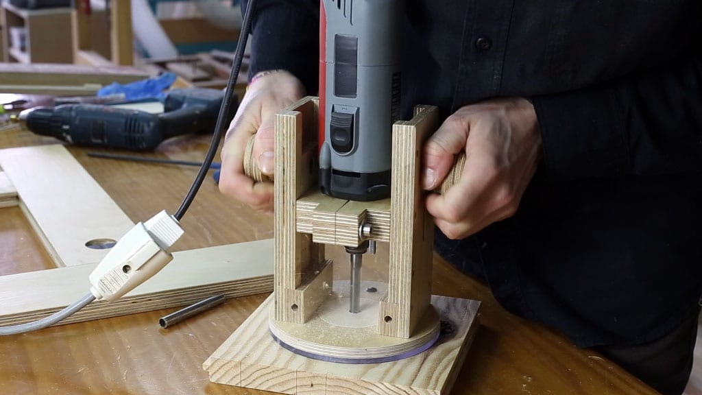 33 3 - DIY Plunge Router Base