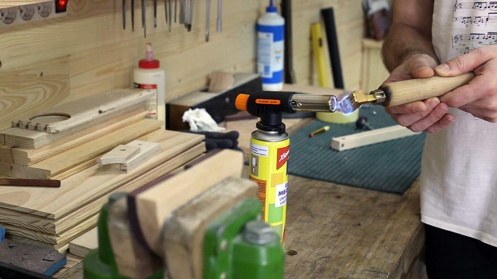 Hierro-marcar-logo-madera-bricolaje