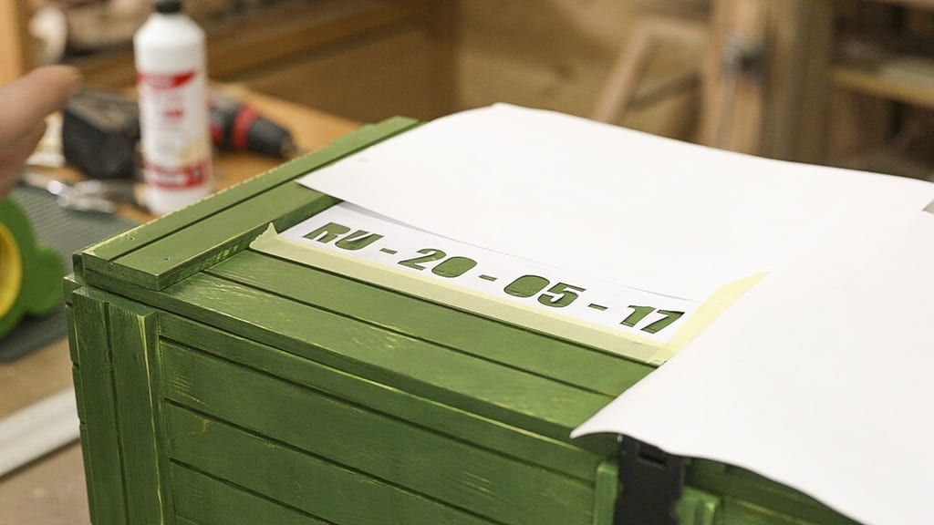 Diy-military-style-box-logo