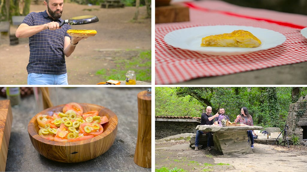 Cooking-omelette-outdoors-bowl