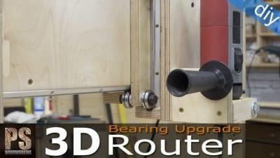Cambio de Rodamientos en la 3D Router