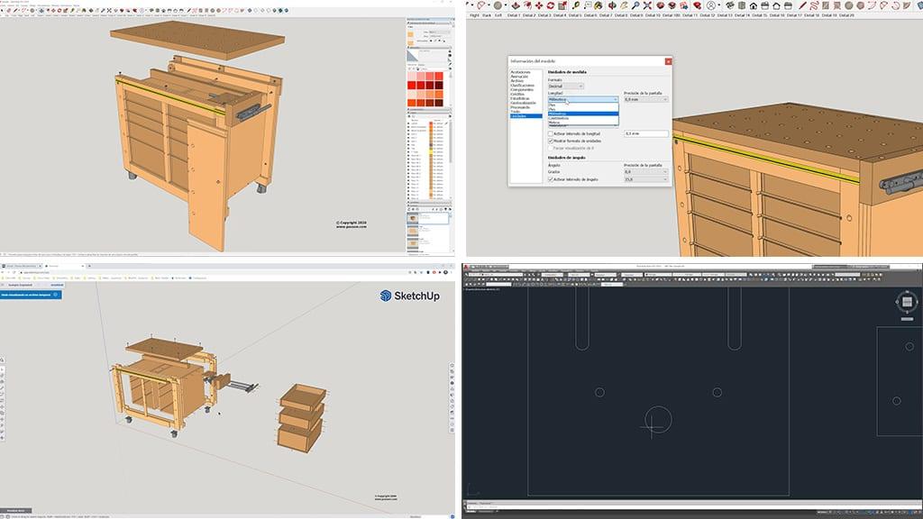 Programas-cad-necesarios-autocad-sketchup-planos-carpinteria