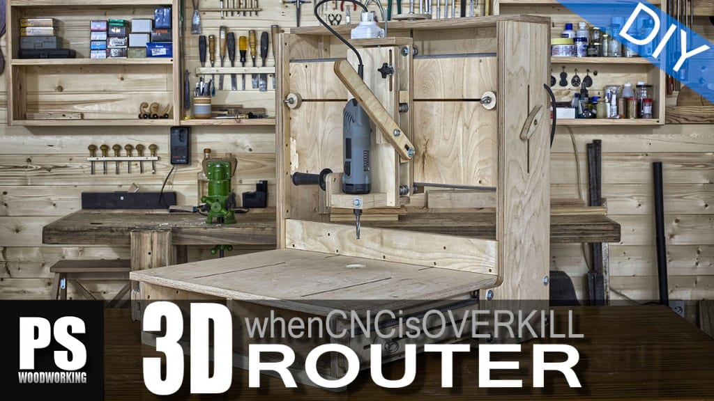 Homemade-woodworking-3d-router