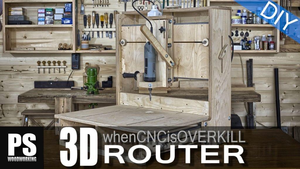 Homemade 3D Router