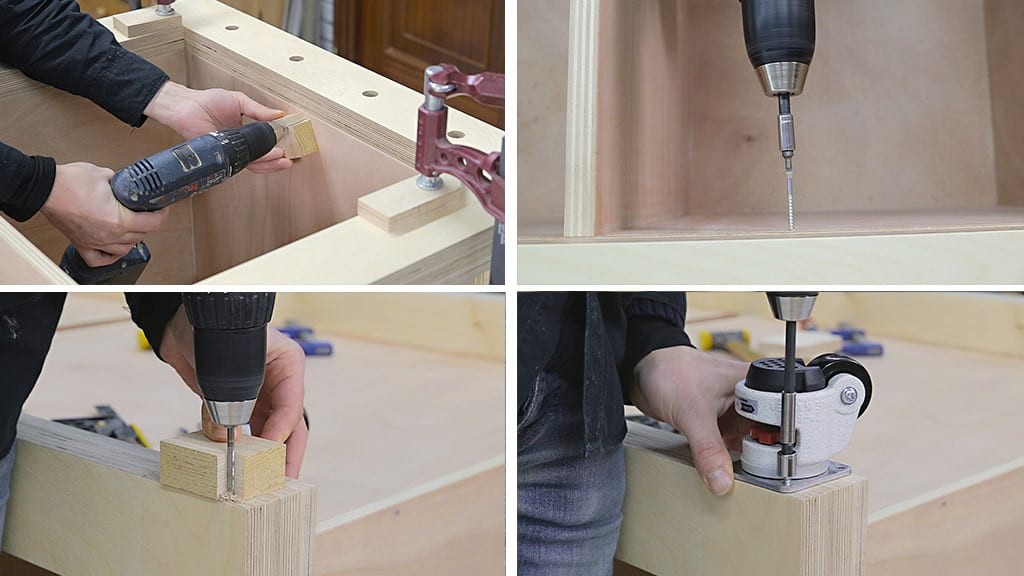 Straight-holes-specific-depths-woodworking