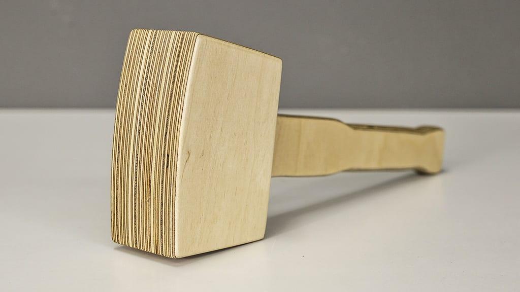 beginner-woodworking-diy-plywood-mallet