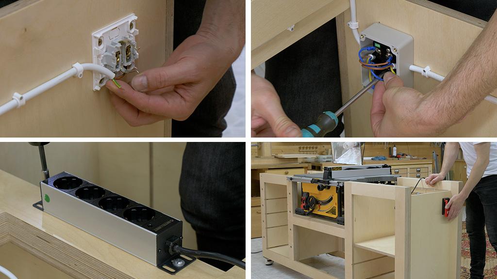 How-make-diy-mobile-workbench-dewalt-electrical-wiring