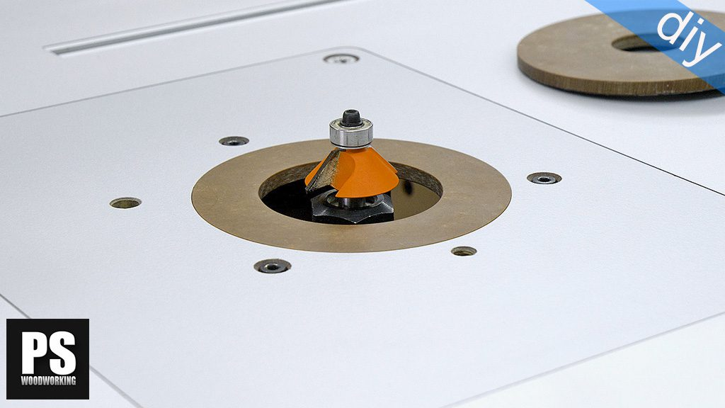 How to make Router Table Insert Rings