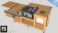Mobile-workbench-table-saw-router-table