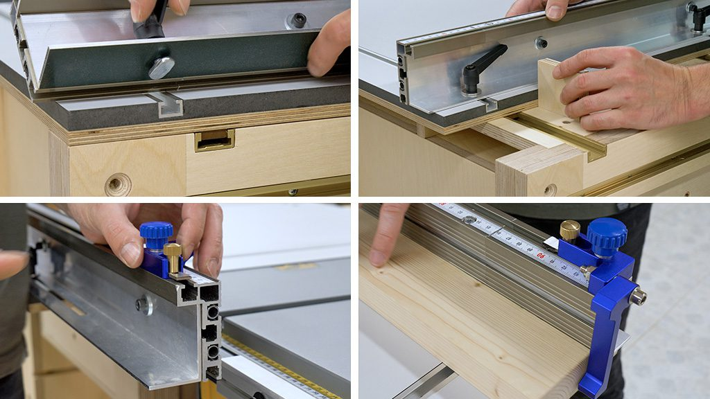 Profile-aluminum-miter-track-stop-homemade-table-saw