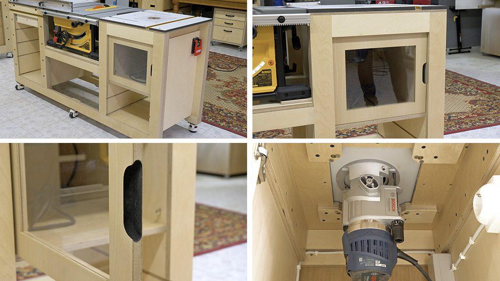 Homemade-router-table-woodworking-cabinet-door-bosch
