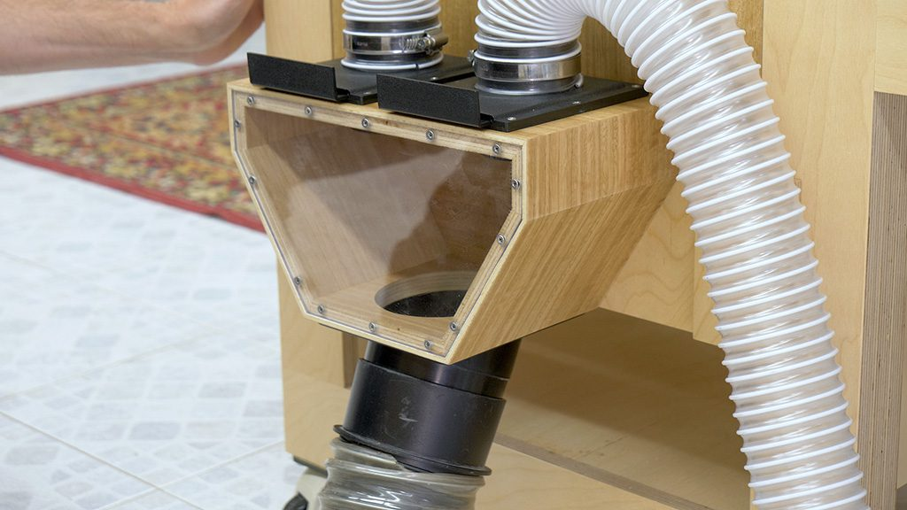 Homemade-woodworking-vaccum-cleaner-blast-gate-box-table-saw-router-removable