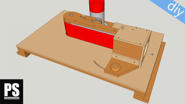 Homemade Edge Belt Sander Plans