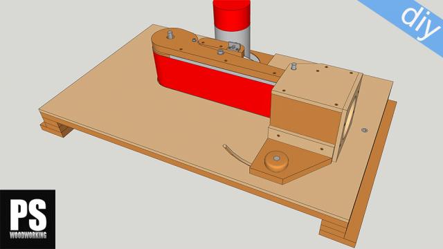 Homemade Edge Belt Sander Plans