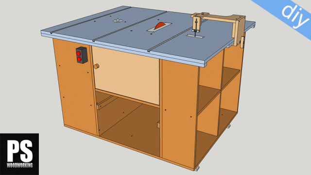 Homemade Router and Saw Table Plans