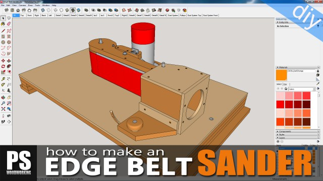 How to Make yur own Edge Belt Sander