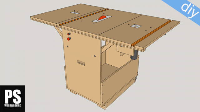 Planos Workshop Portable Casero Carpintería