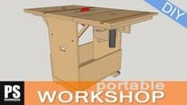 Homemade Portable Workshop Plans