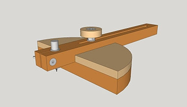 Marking Gauge-and Beam Compass